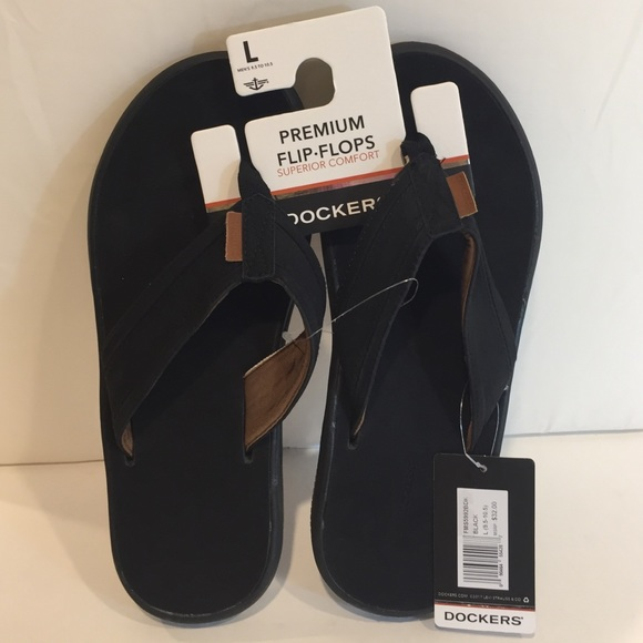 82853149a41b Dockers NEW Men s Premium Flip Flops